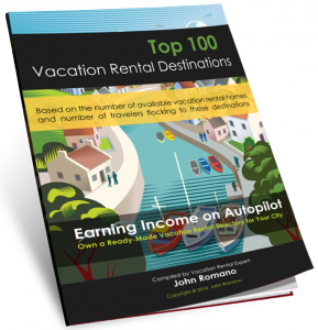 Top 100 Vacation Rental Destinations Ebook
